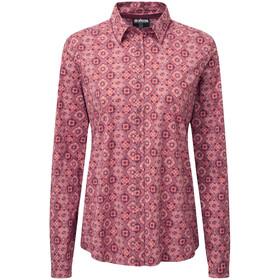 Sherpa Chakra Langærmet T-shirt Damer, pink